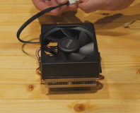 AMD shows off quieter Wraith heatsink and fan