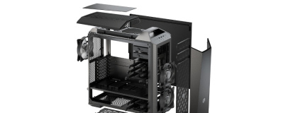 Cooler Master unveils new Maker case, cooler, PSU
