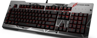 Das Keyboard launches Division Zero gaming range