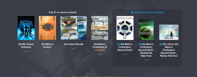 Humble Firaxis Bundle goes live