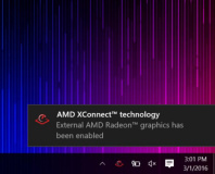 AMD launches XConnect external graphics card tech