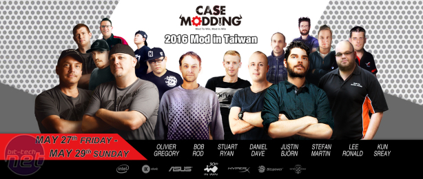 In Win unveils live case modding event, 'Mod in Taiwan'
