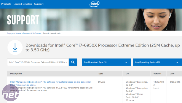 Intel's Monstrous Core i7-6950X Confirmed In Support Documents