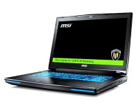 MSI announces WT72 6QN VR Ready mobile workstations