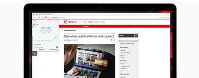 Opera adds free VPN to latest browser builds