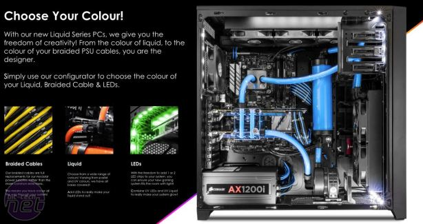 PC Specialist Launches Liquid Series PC Range