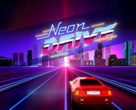 Neon Drive brings 80s-inspired rhythm action