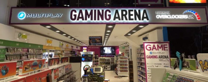 Game launches Multiplay Gaming Arena in Manchester