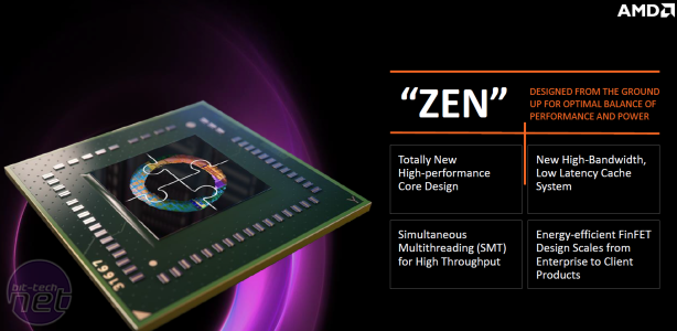 AMD reveals Zen CPU details AMD reveals Zen CPU details: Ground-up redesign with focus on power efficiency