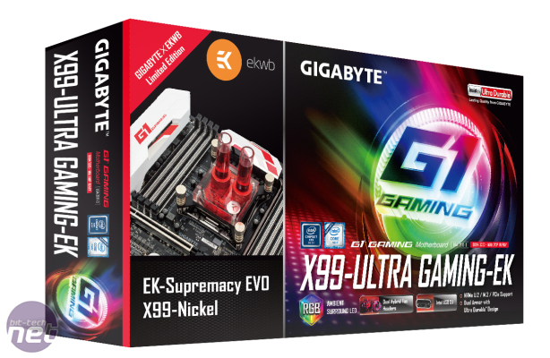 Gigabyte ships X99 and Z170 boards with EK waterblocks