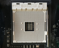 AMD's AM4 socket captured on camera