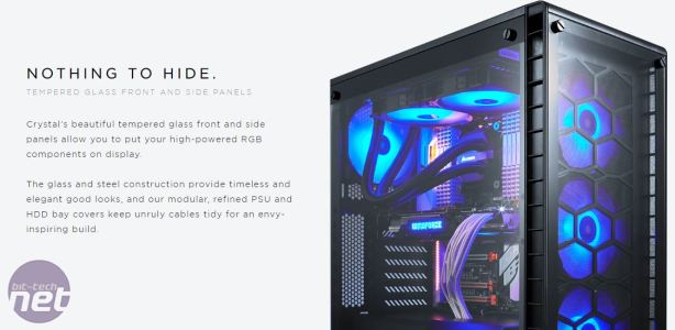 Corsair announces RGB fans and Crystal Series 460X RGB case Corsair announces RGB fans and Crystal Series 460X RGB case