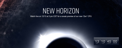 AMD schedules New Horizon Zen event for enthusiasts