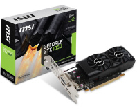 MSI shows off non-Ti low-profile GeForce GTX 1050 GPU