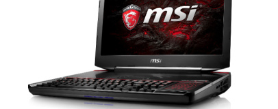MSI announces Kaby Lake VR-ready gaming laptops