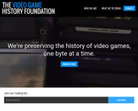 Archivists launch the Video Game History Foundation