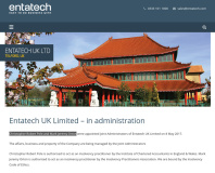 Distributor Entatech enters administration